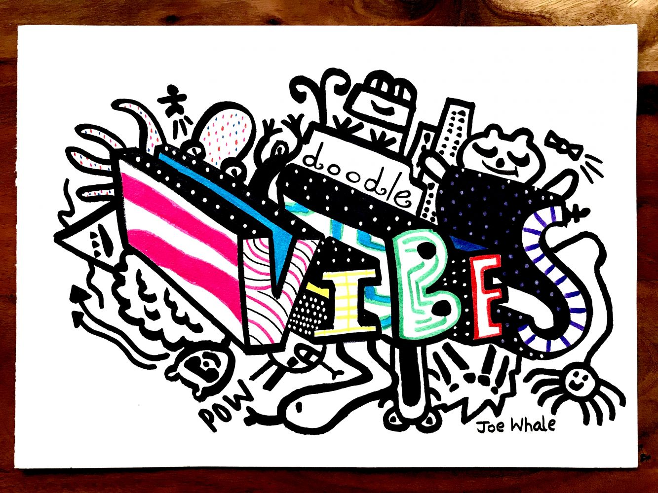 Vibes ORIGINAL doodle - SORRY SOLD OUT