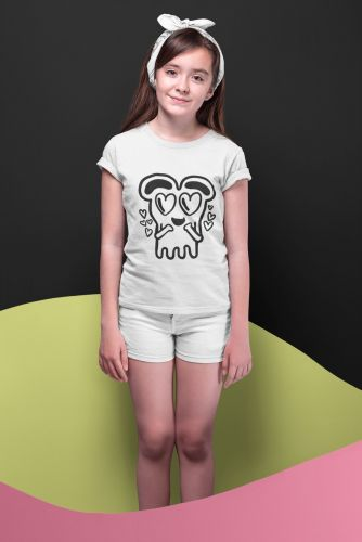 PRE-ORDER  KIDS  Hearts  T Shirt