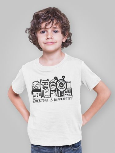 PRE-ORDER  KIDS Everyone is Different T Shirt