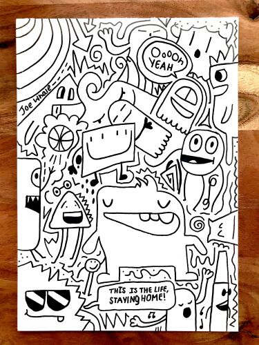 Oooh Yeah ORIGINAL doodle - SORRY SOLD OUT