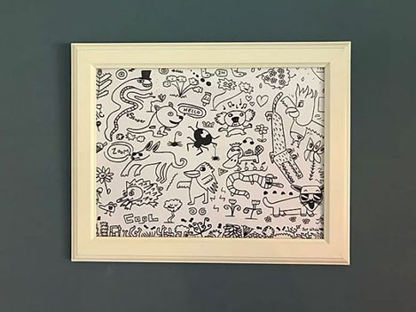 Australian Animal Doodle - All profits go to WWF Australia Bushfire emergency