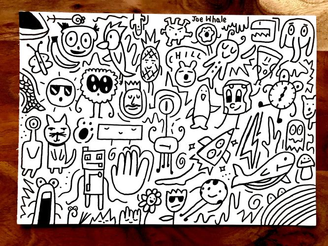 Live instagram ORIGINAL doodle - SORRY SOLD OUT